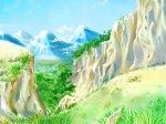 神秘的山谷